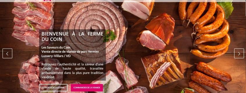 Saveurs du Coin vente directe de viande de cochon